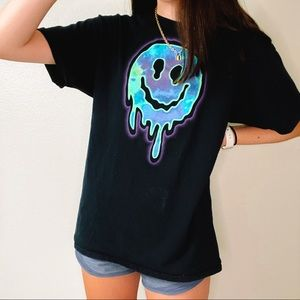 smile graphic tee